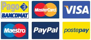 credit_card_icons Centro Assistenza autorizzato Condizionatori Baxi Roma - manutenzione e Installazione
